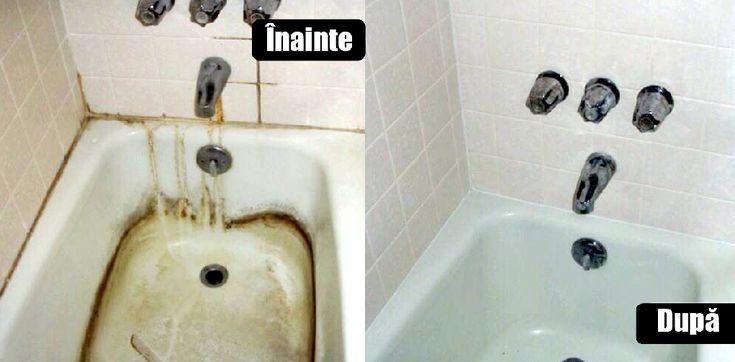 Curățenia casei nu este o treabă ușoară! Mai ales atunci vorbim despre zonele din casă precum gresia, chiuveta, cada si cabina de dus sau vasul de toaletă!