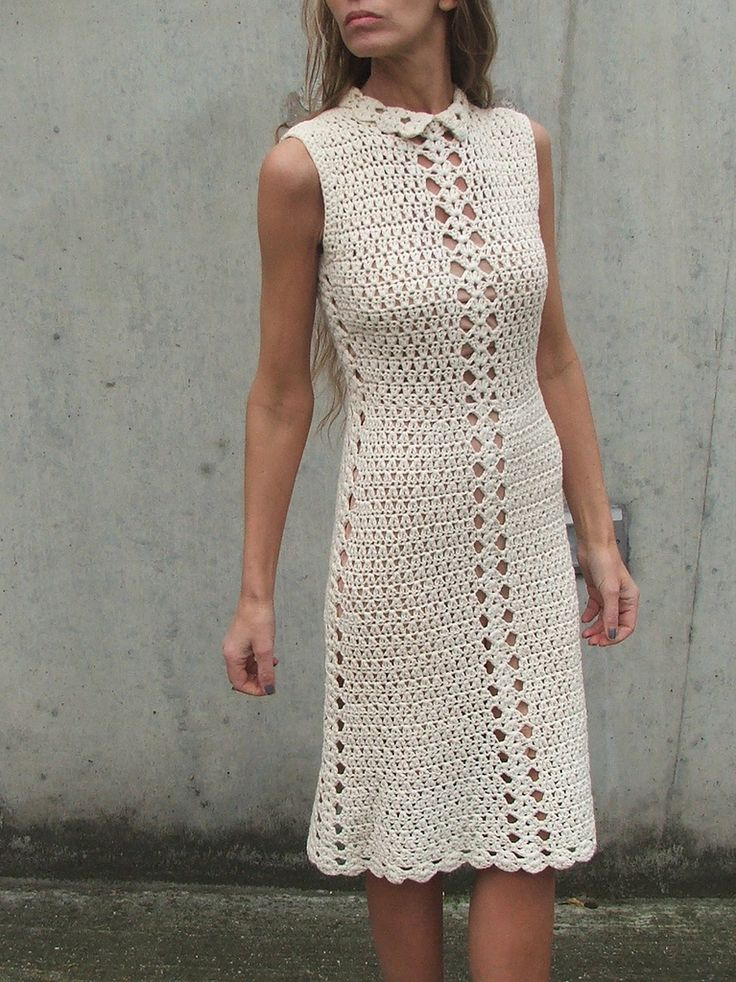 https://flic.kr/p/aTX41g | Retro crochet dress 1