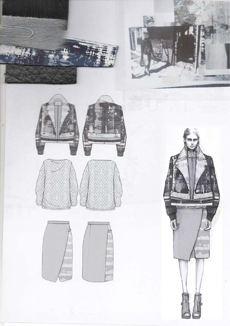 Fashion Sketchbook - fashion design drawings, research & fabrics; fashion portfolio; creative process // Amy Dee