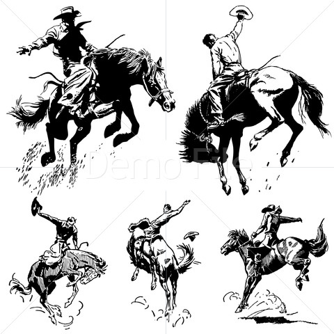 17 best images about western art on pinterest cowboy art for Cowboy silhouette tattoo