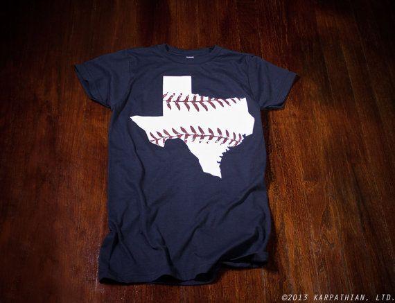 Texas Rangers Texas baseball Ladies t-shirt in Buy Any 3 Shirts Get a 4th FREE on Etsy, $14.99