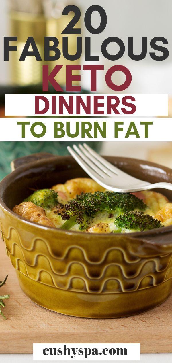 20 fabelhafte Keto-Abendessen zum Fettverbrennen