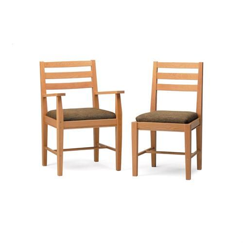 Transitional Dining Chair from Pompanoosuc Mills, Model: Armchair, Sidechair