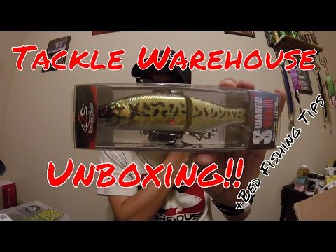 Tackle Warehouse Unboxing And Bed Fishing Tips - (More info on: https://1-W-W.COM/fishing/tackle-warehouse-unboxing-and-bed-fishing-tips/)