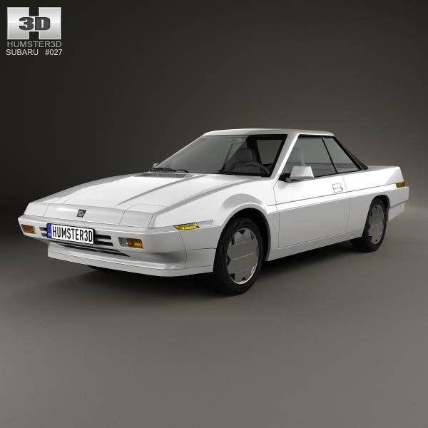 Subaru XT 1985 3d model from humster3d.com. Price: $75