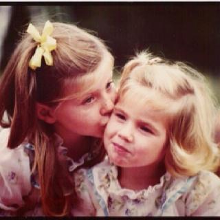 Katrina & Carissa  1981