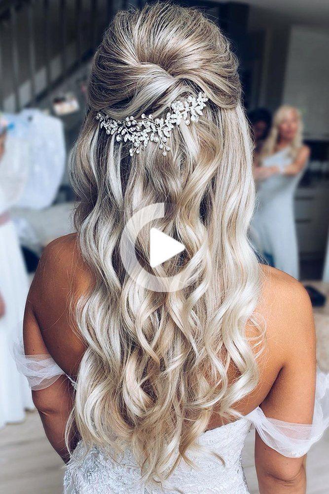 Hot Wedding Haar Trends 2020 Vorwarts Hochzeit Bruiloft Doorsturen Hair Hot Trends Haar Styling Haare Stylen Brautfrisur