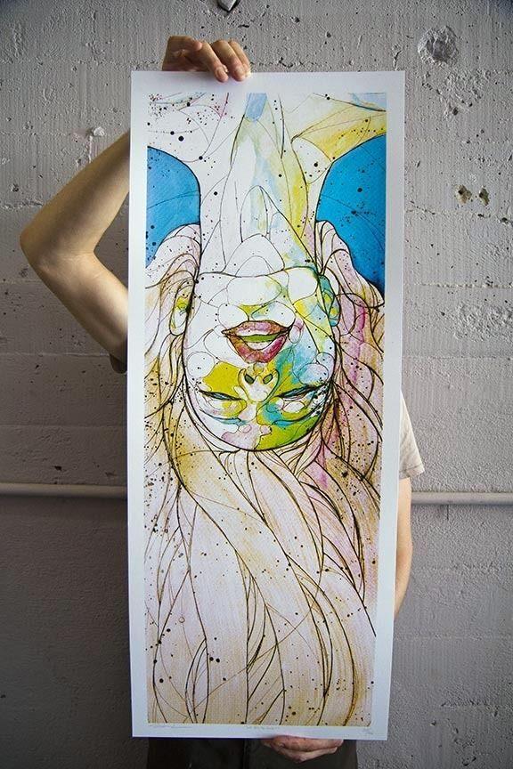 """La Petite Mort"" Art Print by Sanithna Phansavanh"