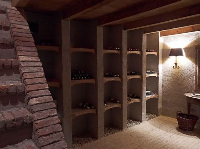 Brick Stairs Down To The Wine Cellar, Oh Yeah!