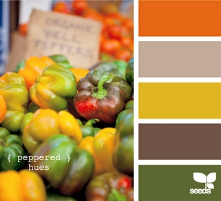 color palate: Colors Pallets, Kitchens Colors, Design Seeds, Color Pallets, Colors Palate, Colors Palettes, Colors Schemes, Peppers Hues, Colors Inspiration