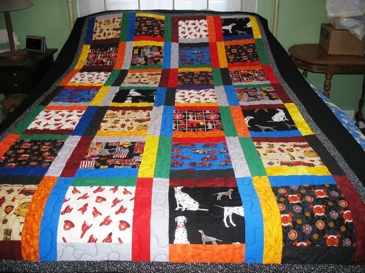 17 Best Images About Fireman Quilt Ideas For Riley On