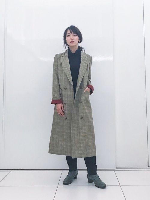 Ameriのジャケット/アウターを使った吉岡里帆のコーディネートです。WEARはモデル・俳優・ショップスタッフなどの着こなしをチェックできるファッションコーディネートサイトです。