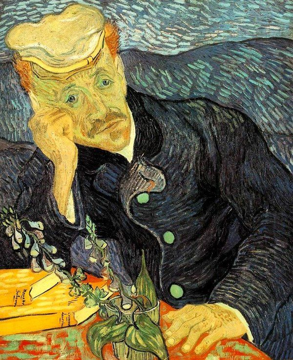 Retrato do Dr. Gachet de Vincent Van Gogh