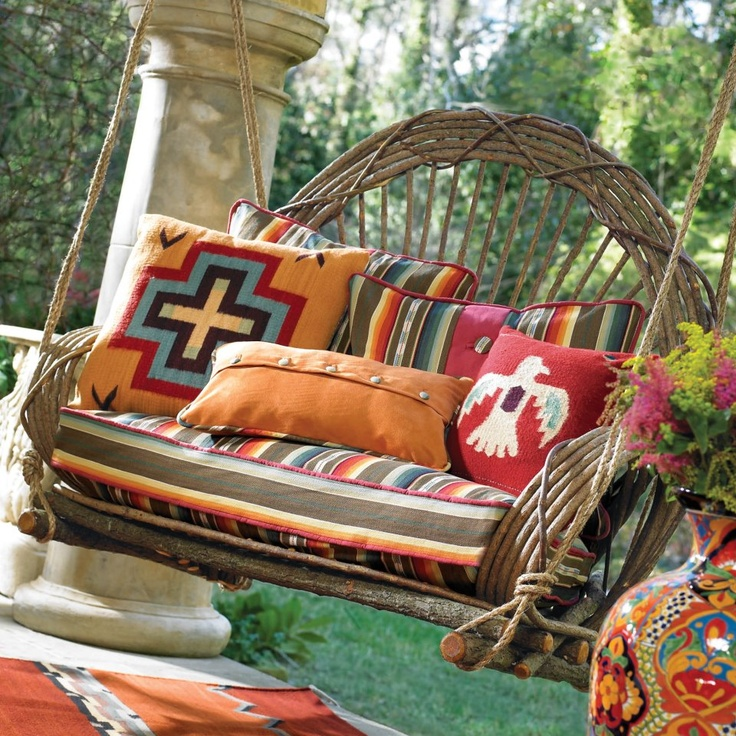 LOVE this for a back porch!