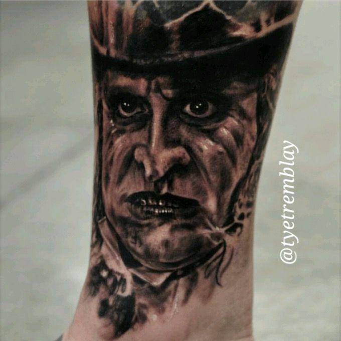 The Penguin - Batman Returns/Danny DeVito tattoo