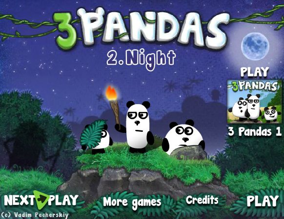 Play 3 pandas 2
