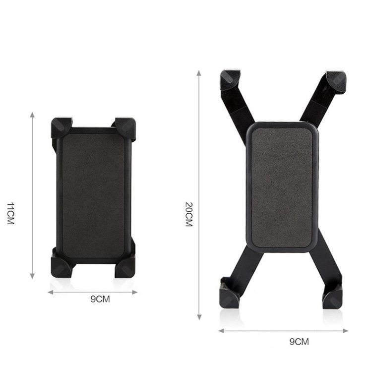 Universal Durable Motorcycle MTB Bike Bicycle Handlebar Cell Phone GPS Mount Holder Suit For 3.5-6.5 Inch Screen Bike Phone Clip