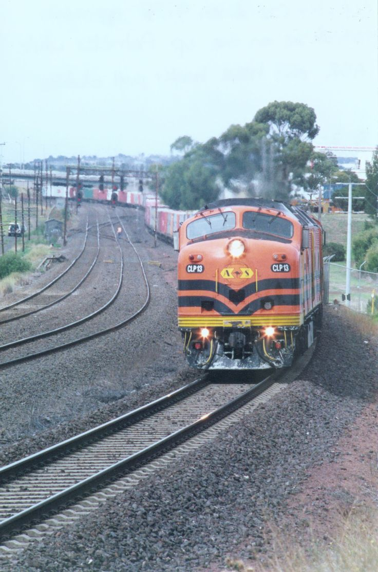 CLP 13 and CLF 1 passing Ford at North Shore, Geelong.
