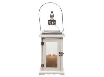 Lantaarns met grote, rustieke kaarsen zorgen niet alleen voor verlichting, maar ook voor sfeer en gezelligheid als het donker is. Erg leuk voor zowel buiten als binnen!