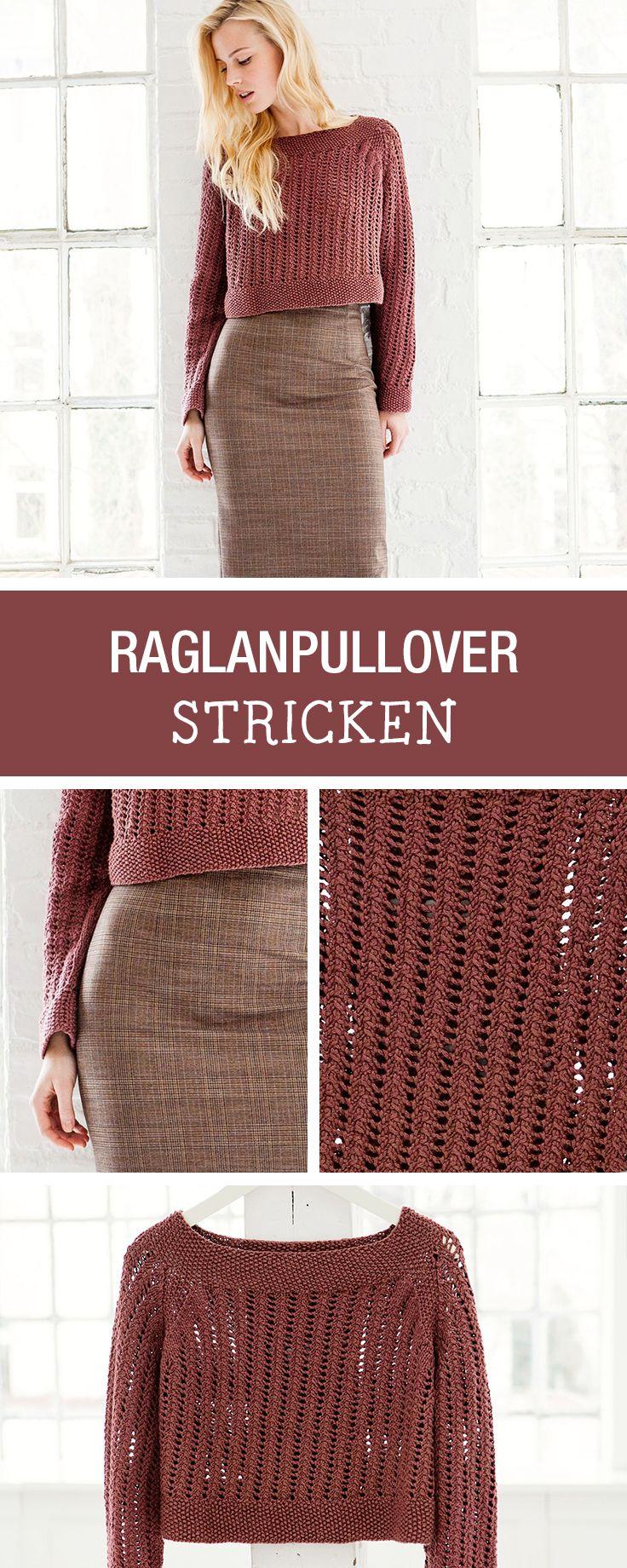 DIY-Anleitung: Lässigen Reglanpullover selbst stricken / DIY tutorial: knitting casual pullover yourself via DaWanda.com