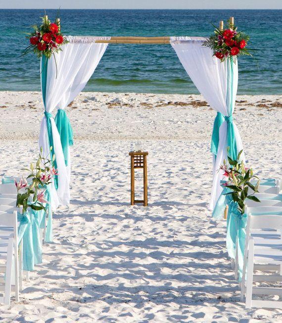 Beach Wedding Altar Ideas: 7 Best Images About Decorating A Beach Chuppah On