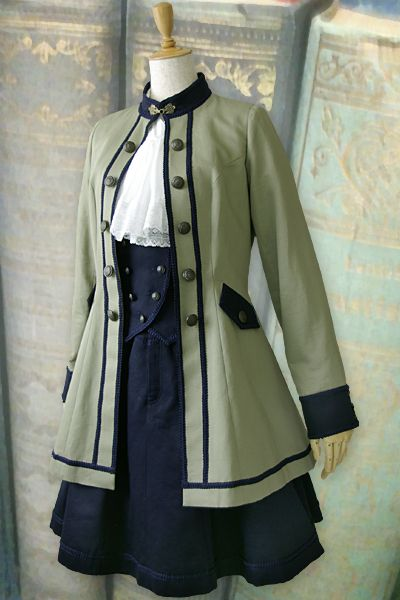 another thing I love, even though I don't think I'd be brave enough to wear it! At least, not all together. That coat? Definitely would wear that