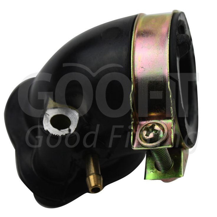 GOOFIT Intake Manifold Pipe for GY6 125cc 150cc Scooters Go Karts ATV Moped 150 cc Scooter Dune Buggy