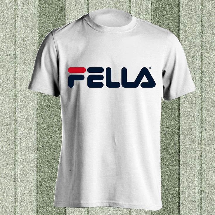 Fella Fila Parody Tee   StoryStatement - buy cheap cool Tshirts online from independent artists worldwide in Singapore/Malaysia - StoryStatement