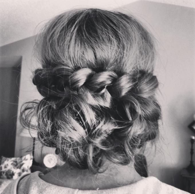 prom-updo