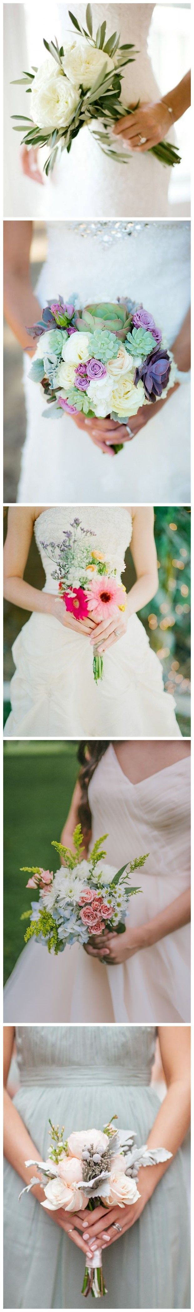 Wedding Flowers » 18 Adorable Small Wedding Bouquets for Your Big Day!❤️ See more: http://www.weddinginclude.com/2017/02/adorable-small-wedding-bouquets-for-your-big-day/