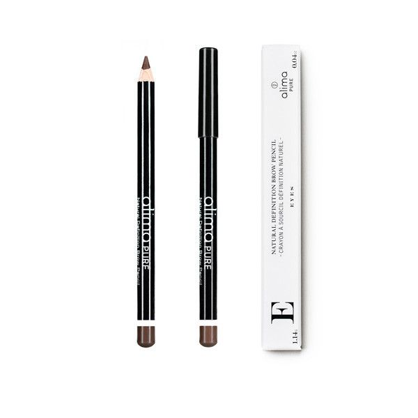 WHAT IT IS A highly pigmented natural eyebrow pencil. Made in the Czech Republic 0.04 oz / 1.14 g WHAT IT DOES Natural Definition Brow Pencil is a smooth, blendable pencil for precise application suit