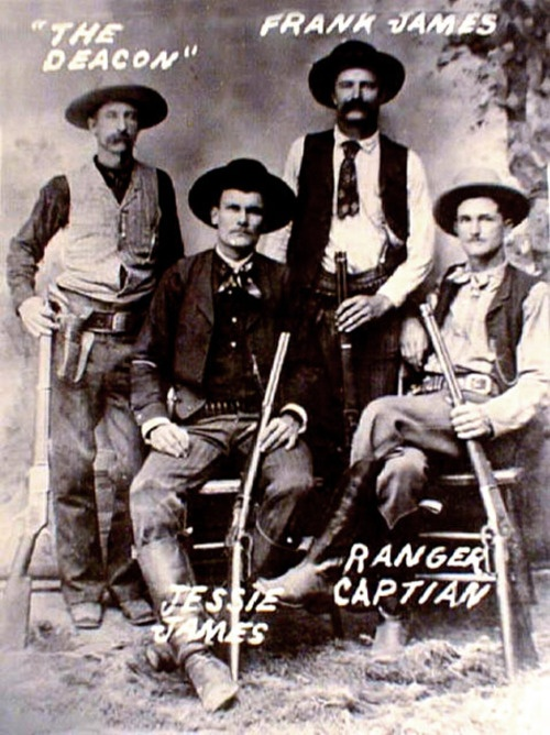 The James Younger Gang was infamous in the late 19th century. Learn more about them on our blog! http://www.openroadmedia.com/blog/2013-06-13/Ron-Hansen-and-the-Assassination-of-Jesse-James