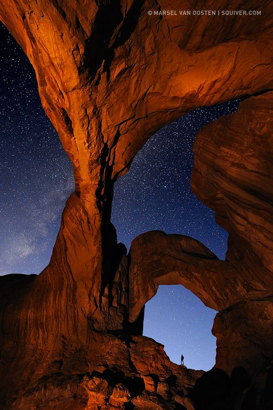 The Gates. Arches National Park, Utah.