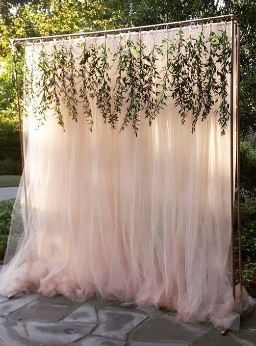 Decoração de casamento ao ar livre   – Love is in the air