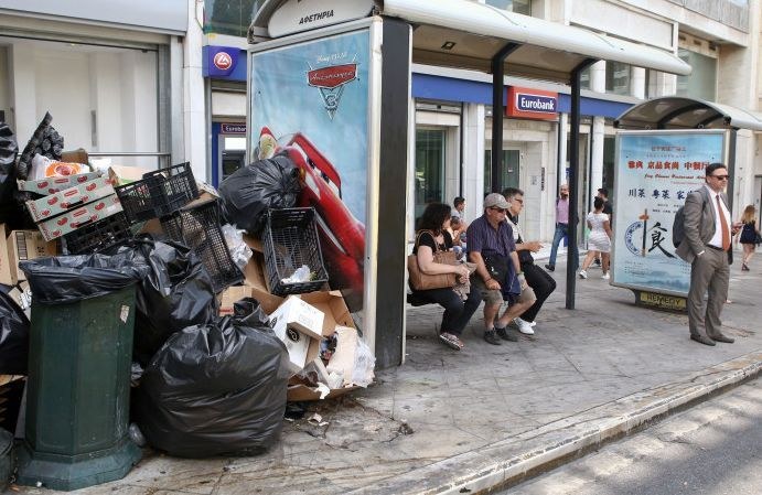 Garbage Strike in Greece Comes to an End.