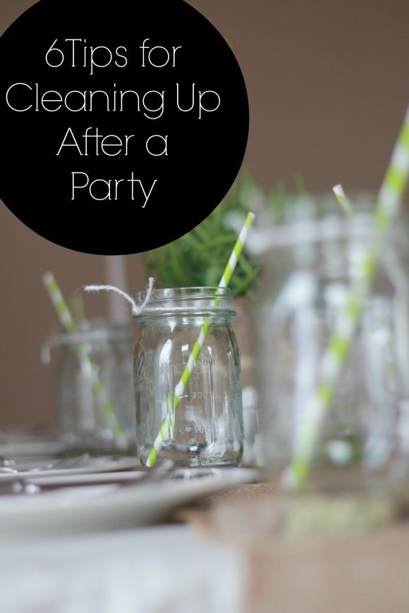 6 Tips for Cleaning Up After a Party | CatchMyParty.com
