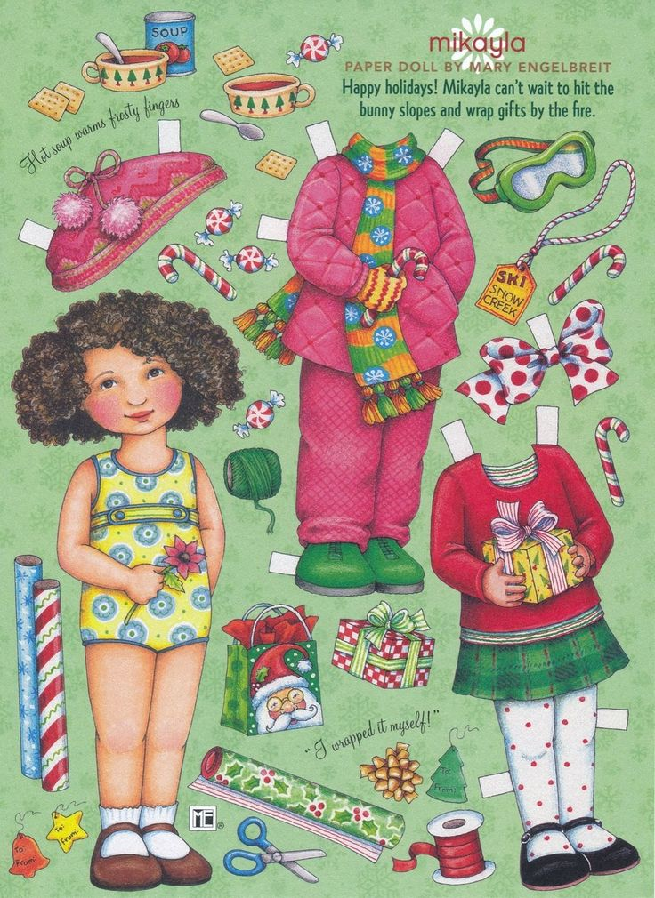Mary Engelbreit Paper Doll Mikayla Vol 11 No 1 Dec Jan 2007 | eBay