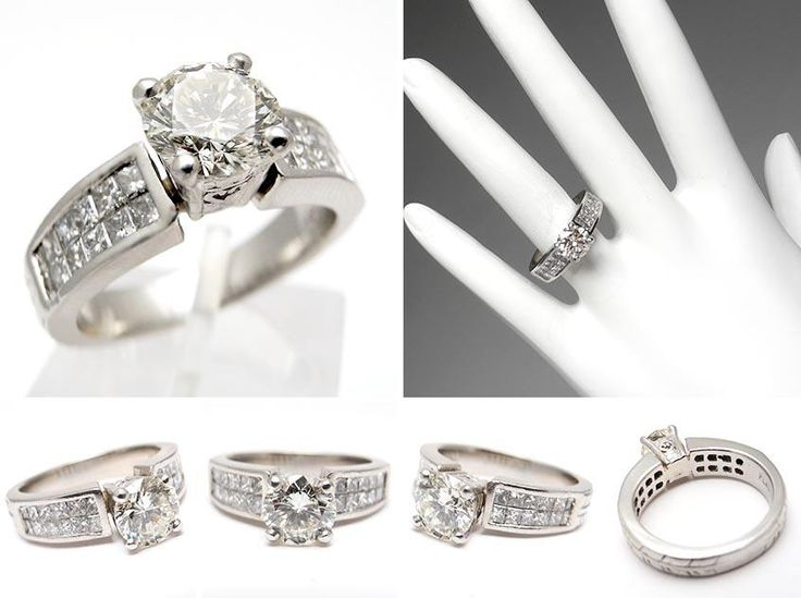Wide Wedding Bands With Diamonds