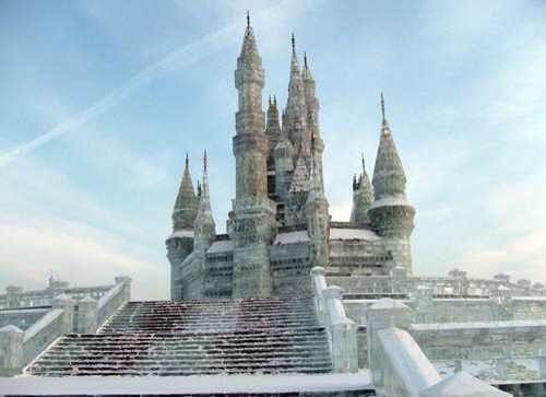 Ice castle, Harbin, China