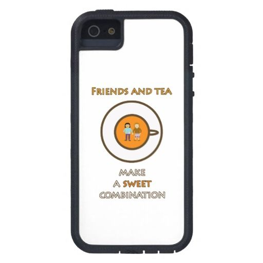 Friends and tea make a sweet combination (2) case for iPhone 5