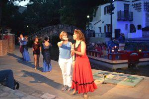 Fiesta Noche del Rio, Arneson River Theater, Riverwalk, San Antonio TX