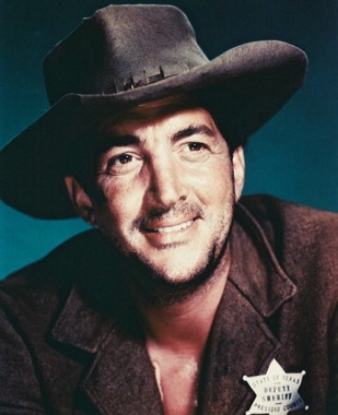 RIO BRAVO (1959) - Dean Martin as 'Dude' - Deputy Sheriff of Presidio County, Texas - Directed by Howark Hawks - Warner Bros.