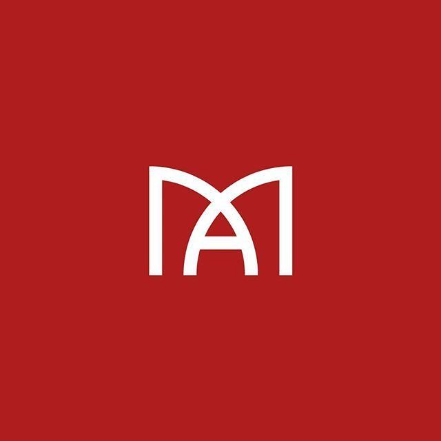 AM monogram logo #logo #logodesign #design #graphic #designer #art #artist…