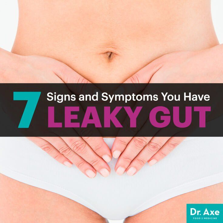 7 Signs and Symptoms You Have Leaky Gut - Dr. Axe