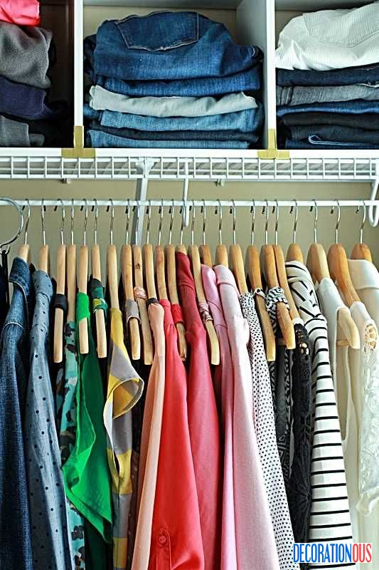 145 best images about closet clothes organizing on Best way to organize clothes