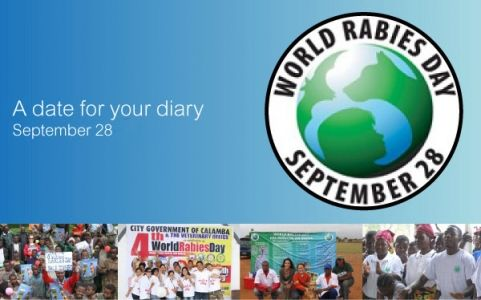 September 28, 2013 is World Rabies Day. Go to www.healthaware.org for link to more information.