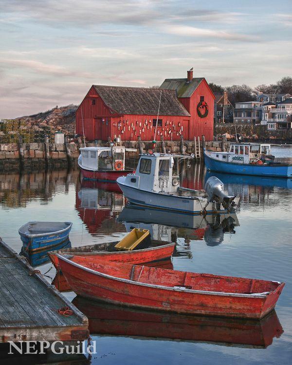 Rockport, Cape Ann, Essex County, Massachusetts│Jeff Folger, New England Photography Guild