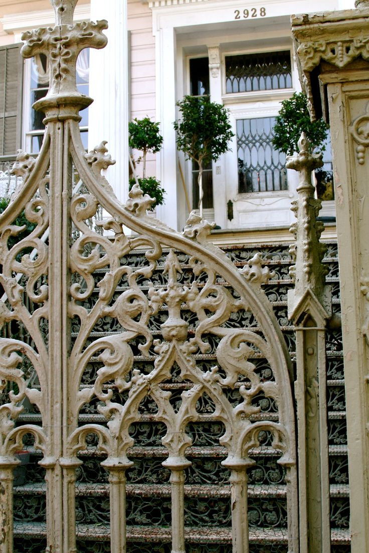 Wrought iron garden gate - Find This Pin And More On Wrought Iron Fences Iron Gate Entrance To Secret Charleston Garden