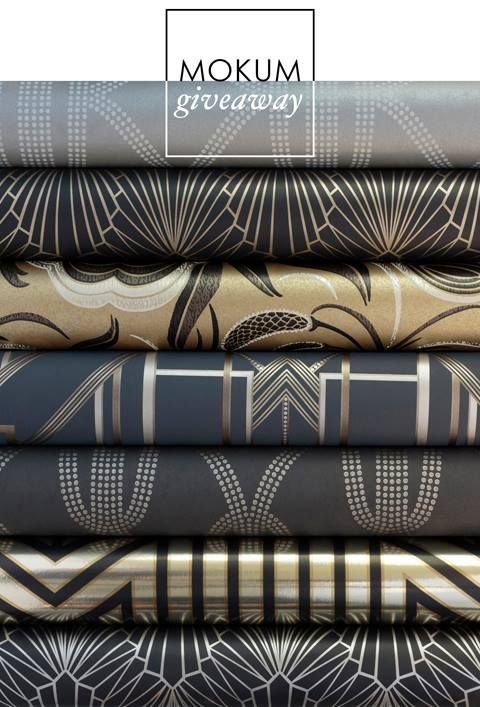 Metropolis Wallpapers [Metropolis collection - a new range of fabrics and wallpapers in collaboration with Mokum]