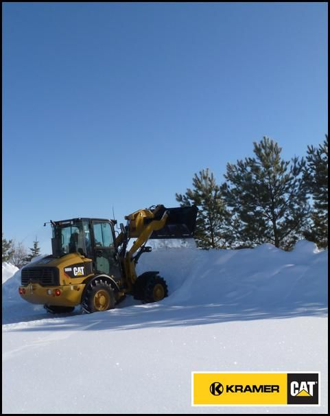 Some significant snowfall forecast for Saskatchewan. Show us your Cat® snow removal photos.